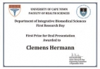 clemens hermann - 1st prize oral presention